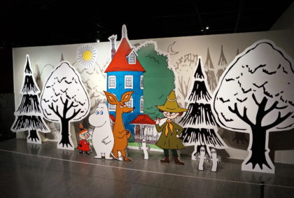 Moomin Artworks Exhibition in Seoul